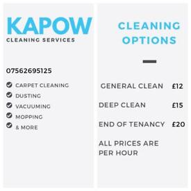 Kapow cleaning services