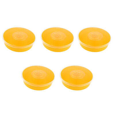 5x Bee Honey Entrance Feeder Round Bee Drinking Box Hive Fountains Feeding
