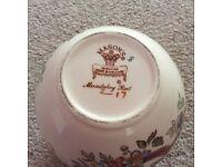 Masons Ginger Jar. Mandalay red pattern