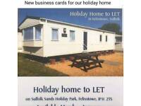 Mobile holiday home