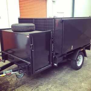 7x5 Gardeners Heavy Duty Trailer Ascot Vale Moonee Valley Preview