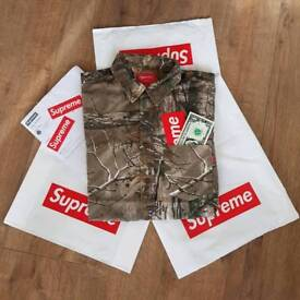Supreme x Realtree Camo Flannel Shirt