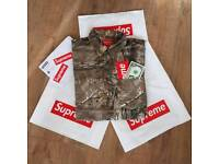 Supreme x Realtree Camo Flannel Shirt
