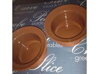 Teracotta bowls