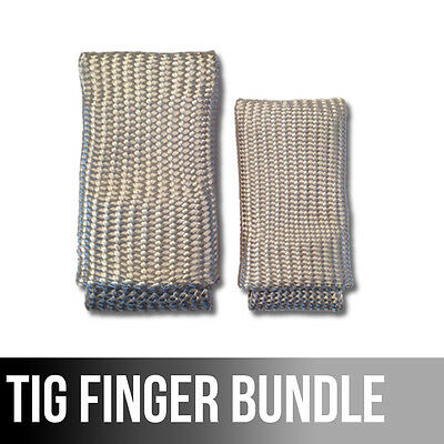 The Original Tig Finger Xl Bundle Weld Monger Welding Glove Heat Shield Combo