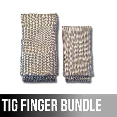 The Original Tig Finger Xl Bundle Weld Monger Welding Glove Heat Shield Combo