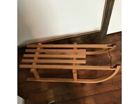 Wooden Sledge - never used