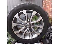 "Nissan Juke wheels 17"" with tyres"