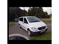 Mercedes vito minibus for sale