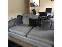 Large Corner Sofa & Chair