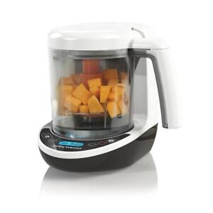 NEW Baby Brezza BRZ00141 Baby Food Maker Complete, White