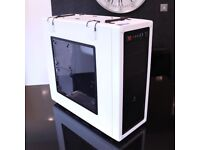 Corsair Vengeance Series C70, Mid Tower Desktop PC Case, Ammo Box Design, White