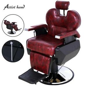 Heavy-duty Reclining Salon Styling Chair Hydraulic Hair Barber Beauty Equipment - BRAND NEW - FREE SHIPPING