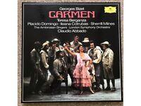 Domingo, Berganza; Carmen; 3-record box set