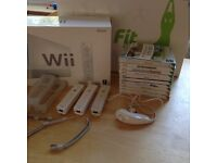 Nintendo Wii and Wii Fit etc.