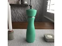 Gorgeous green medium salt or pepper mill