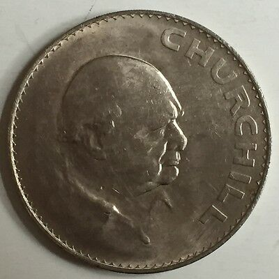 1965 Churchill Commemorative Crown Great Birthday Present Uncirculated