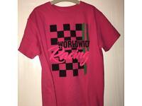 Pink motocross top