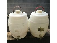 Homebrew beer barrels for sale: reduced price.