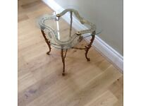 Rococo French style coffee fable/side table