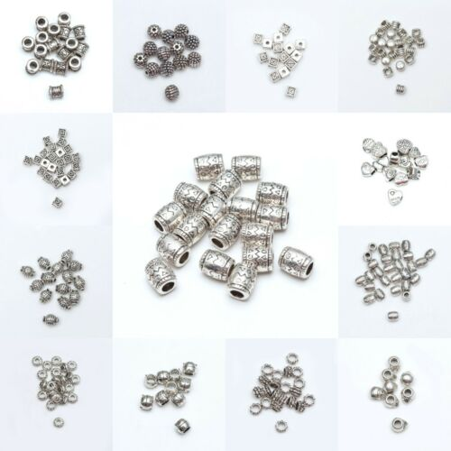 Free Shipping 4000pcs silver plated Spacers bead 4mm