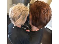 Hairdressing services from cut and blow drys, gents, colour and children's cuts level 2&3 qualified