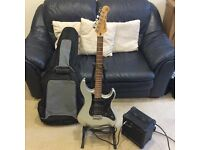 Electric Guitar - Yamaha Pacifica and Accessories