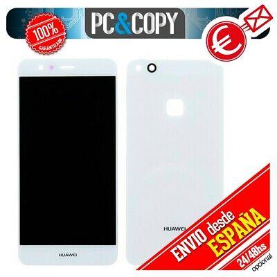 S945 Pantalla LCD + Tapa trasera originales para Huawei P10 Lite BLANCO...