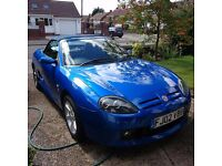 MG TF 1.8 135 Trophy Blue Stunning Condition - An incredibly fun and zippy roadster