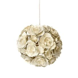 Cream Ceiling Light