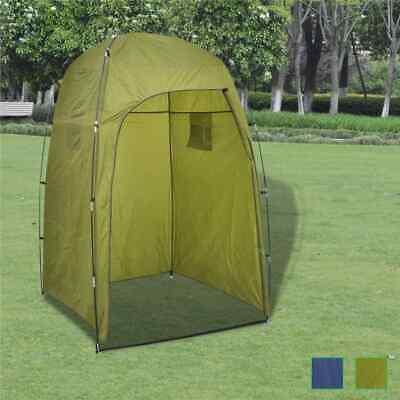 Duschzelt Toilettenzelt Umkleidezelt Beistellzelt Lagerzelt Camping Blau/Grün