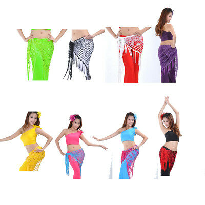 Belly Dancer Hip Scarf Dance Hip Wrap for Halloween Dance Girl Costumes - Belly Dancing Costumes For Halloween
