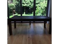 Unusual and Much admired Dining Table made from Old Railway Sidings and Full of Character