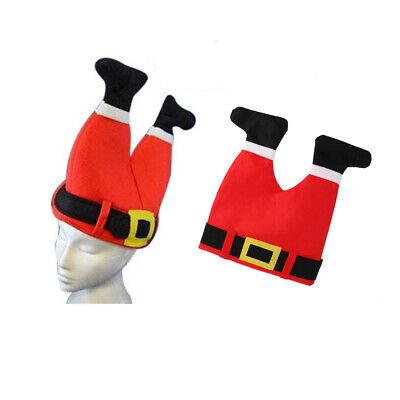 Neuheit-Weihnachtsmann-Hut-Kind-erwachsene ()