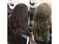 Hair Balayage hair highlights haircut hair extensions