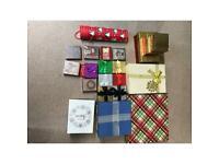 Christmas gift boxes x22