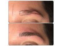 Eyebrow MICROBLADING, semi permanent treatment