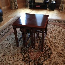 Mahogany Tables sale ending July 23rd