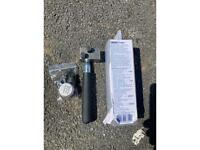 Handheld brake pipe flarind tool