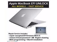 Apple MacBook iMac EFI iCloud REPAIR SERVICE – All Models – BIOS Programming - MANCHESTER