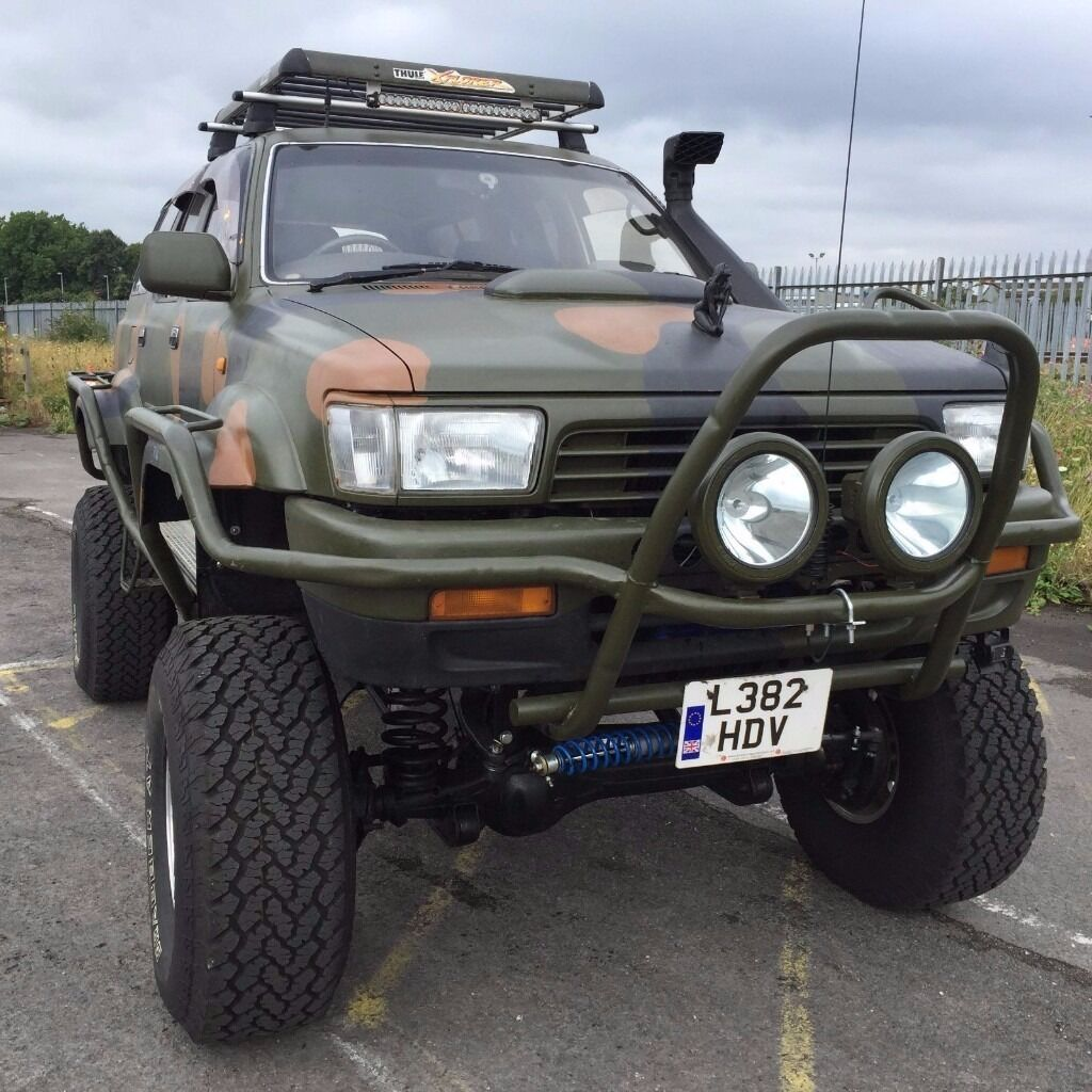 Toyota Hilux Surf Monster Truck Modified Offroad Bargain