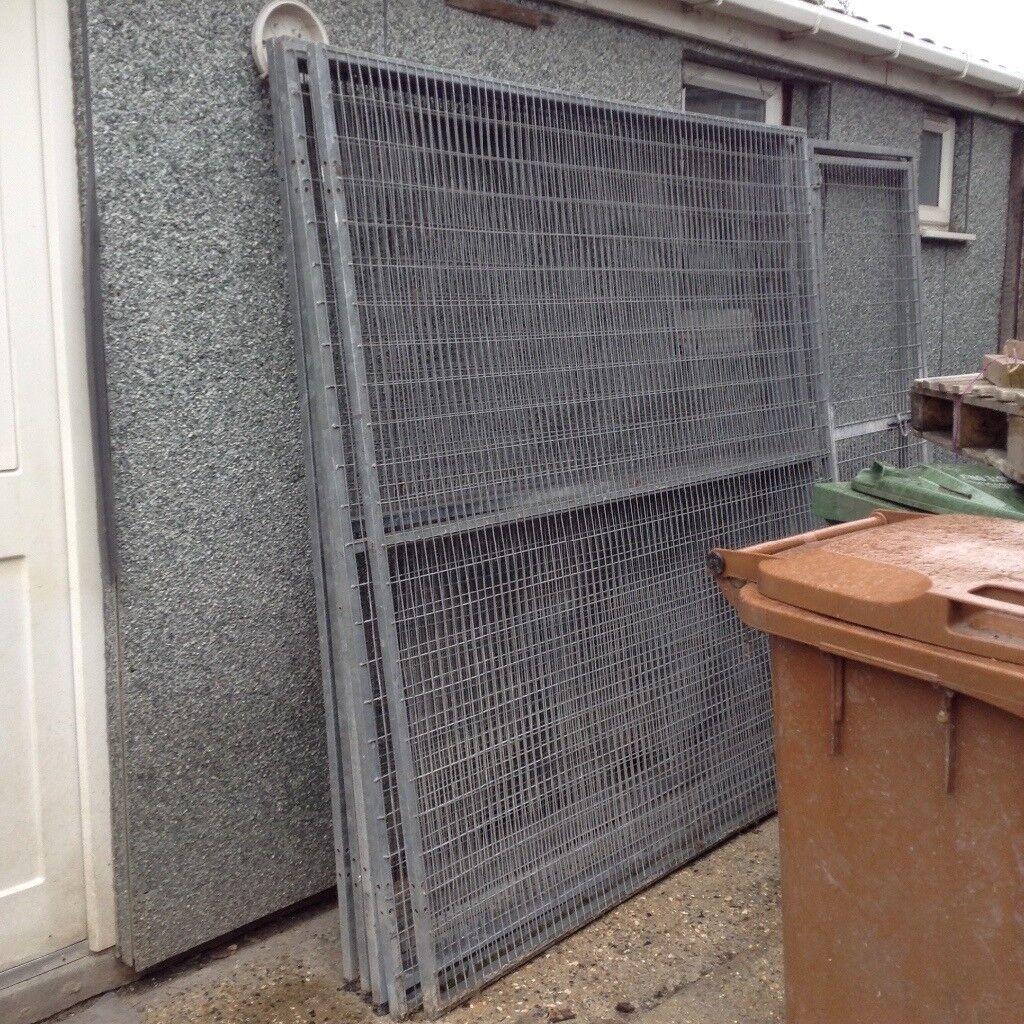 Galvanised dog pen/run sides panels | in Bexley, London | Gumtree