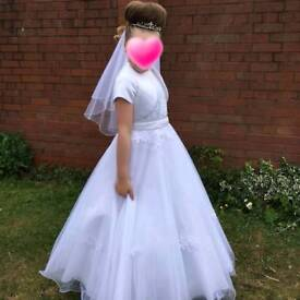 Holy communion dress immaculate