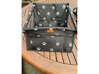 dog car seat and carry bag