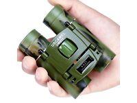 USCAMEL 8x21 Compact Binoculars 3000m Folding Powerful Mini UW011B SPORTS GREEN