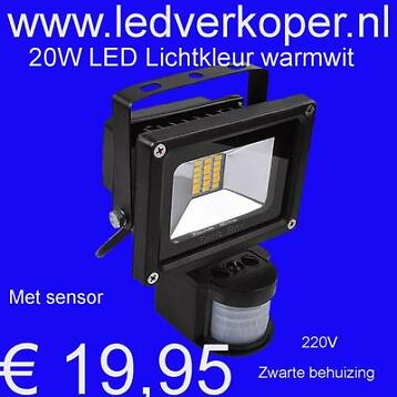 LED Bouwlamp 10W / 20W / 30W / 50W / 100W / 150W