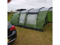 Six person tent glenwood 600 and camping equipment.