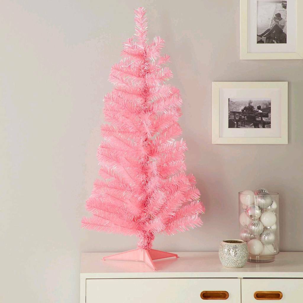 3ft Pink Christmas Tree