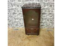 Vintage Mahogany HiFi Cabinet
