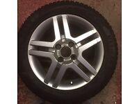 Fiesta,wheels, winter tyres, alloys